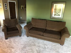 Couch and Chair Set for Sale in Redmond, WA