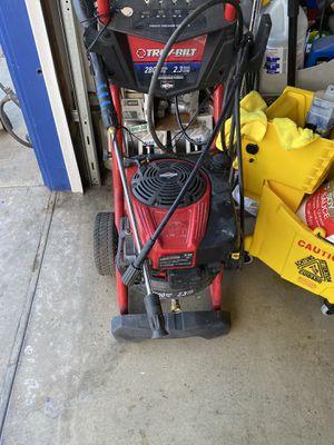 Troy- bilt pressure washer 2800 psi for Sale in Huntington Beach, CA