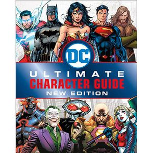 DC Comics Ultimate Character Guide Book for Sale in Los Angeles, CA