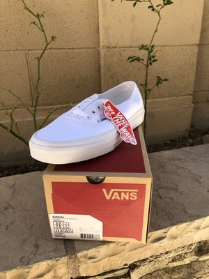 Vans Authentic White/White for Sale in Los Alamitos, CA