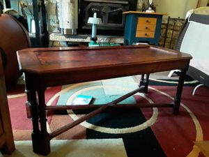 Wood coffee table for Sale in Seattle, WA