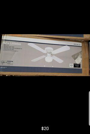 42 inch ceiling fan with light for Sale in Bakersfield, CA