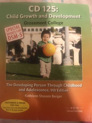 CD 125 Child Growth and Development for Sale in San Diego, CA