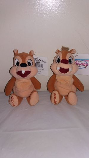 New with tags Disney Chip and Dale Beanie Babies for Sale in Downers Grove, IL
