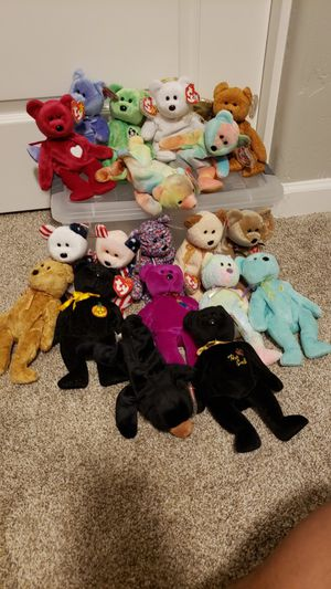 TY beanie baby bear collection for Sale in Phoenix, AZ