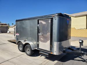 2016 12' Interstate enclosed trailer for Sale in Henderson, NV