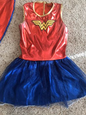 Girls (10/12) Wonder Woman costume for Sale in Tacoma, WA