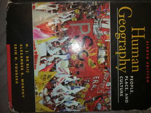 Human Geography Textbook for Sale in Elk River, MN