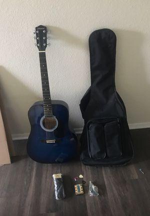 Johnson JH-KIT-BL acoustic guitar for Sale in Fullerton, CA