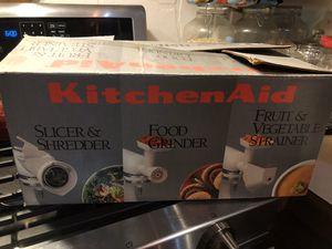 KitchenAid Mixer Attachments for Sale in Saucier, MS