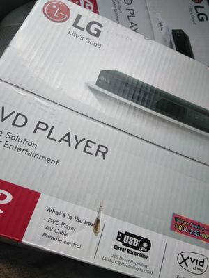 LG DVD player for Sale in Charlotte, NC