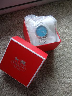 Turquoise Coach watch for Sale in Wilsonville, OR