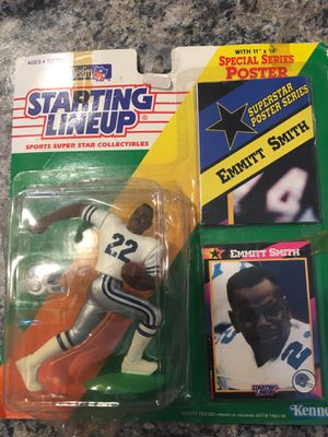 Emmitt Smith Action Figure for Sale in Smyrna, TN