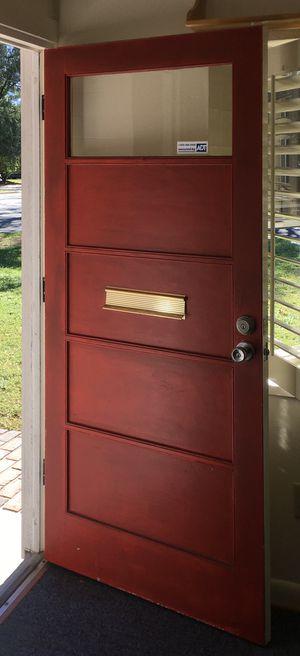Beautiful 1960's Wood Door for Sale in Winter Park, FL