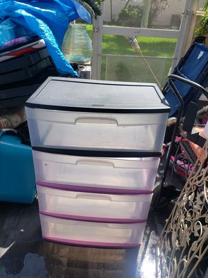 PLASTIC DRAWERS 15 each!! for Sale in Boca Raton, FL