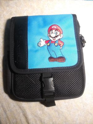Blue Mario Nintendo Case beg for Sale in Fridley, MN