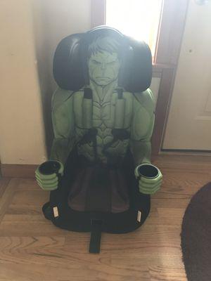 Hulk car seat booster seat for Sale in Lynnwood, WA
