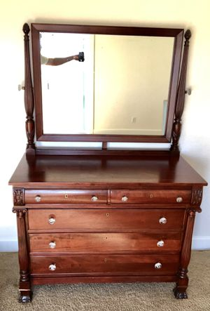 Solid Mahogany Dresser for Sale in Orange, CA