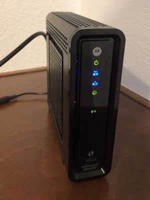 Motorola SBG6580 SURFboard DOCSIS 3.0 Wireless Cable Modem - Works with COX! for Sale in Las Vegas, NV
