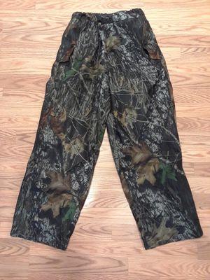 Hodgman waterproof camo fleece drawstring pants. Medium. Excellent condition. for Sale in Port Orchard, WA