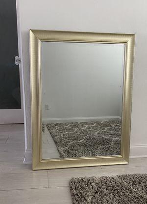 Gold mirror for Sale in Miami Beach, FL