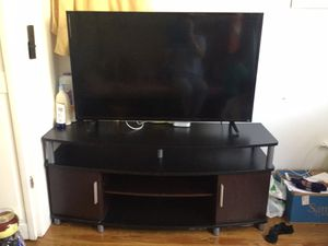 TV and tv stand for Sale in Queens, NY