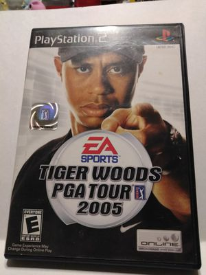 PS2 Tiger Woods PGA tour 2005 game for Sale in Brainerd, MN