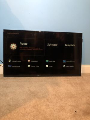 40 inch Samsung Smart TV for Sale in Westwood, MA