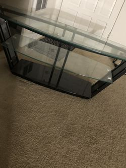Glass Tv Stand for Sale in Garden Grove,  CA
