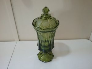 Fostoria green urn type glass for Sale in Glendale, AZ