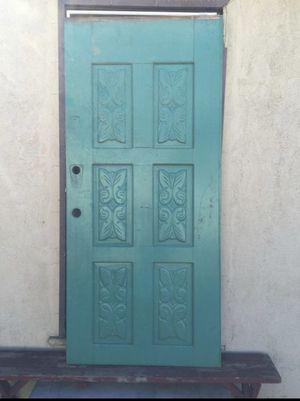 Rustic mahogany vintage door, 36 wide 76 tall for Sale in Vernon, CA