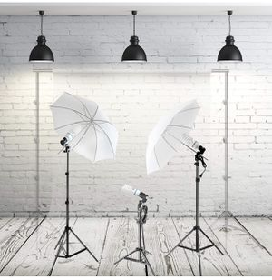 3 Piece Photography Lighting Set for Sale in Mill Creek, WA