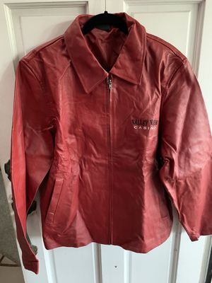 Valley View Casino San Diego's Favorite Leather Jacket Size S for Sale in Escondido, CA