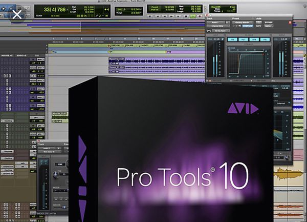 Pro Tools 10.3 + waves plugins Mercury more 256SSD HDD