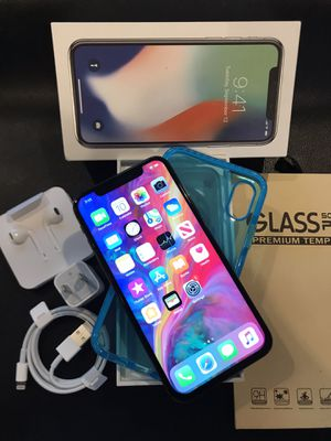 IPHONE X UNLOCKED FOR ANY CARRIER COMPANY & WORLDWIDE 256GB for Sale in Rosemead, CA