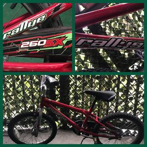 Rallye 260SX BMX Bike 20 inch boys for Sale in Redmond, WA