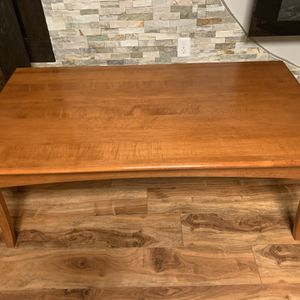 "Solid Wood Mid Century Modern Coffee Table !!! 19"" H 27"" D 50"" W for Sale in Vancouver, WA"