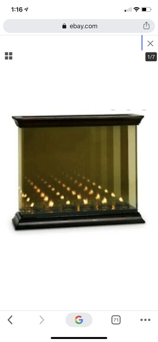 Partylite Infinite Reflections Mirrored Candle Holder
