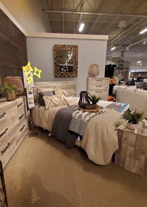 Derekson Panel Bedroom Set for Sale in Silver Spring, MD