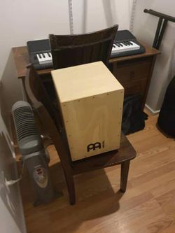 Cajon Guitar TV Desk Futon Chair Bike... For Sale for Sale in Bellevue,  WA