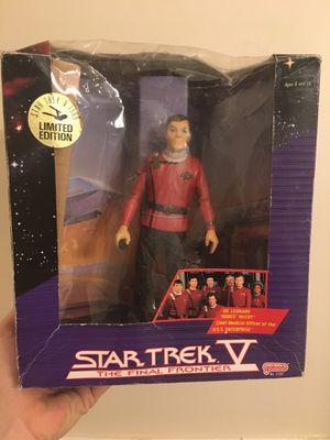 """Star Trek V The Final Frontier Dr. Leonard VTG 80s 7.5"""" action figure for Sale in Atlanta, GA"""