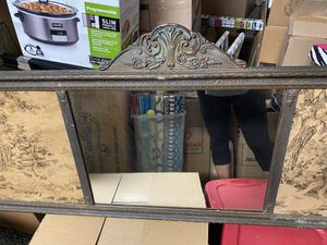 Antique wall decor with tapestry and mirror for Sale in Newport Beach, CA