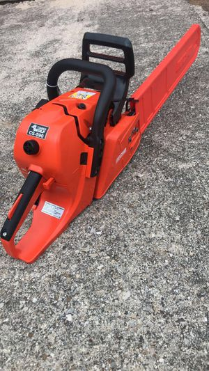20 inch Echo 590 wolfe edition chainsaw. Basically new for Sale in Carrollton, TX