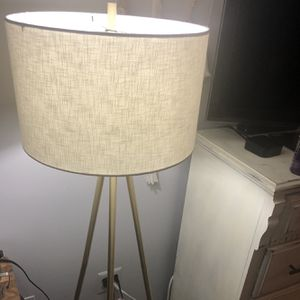 Tripod Gold Floor Lamp for Sale in Ellicott City, MD