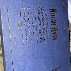 Nolan Ryan 1993 27th Commemorative Collection for Sale in Waco,  TX