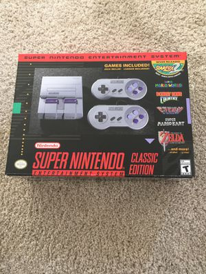 Super Nintendo Mini - STILL IN BOX. UNOPENED for Sale in Sausalito, CA
