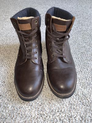 Tommy Hilfiger Size 12 Leather with faux fur lined Boots. for Sale in Alexandria, VA