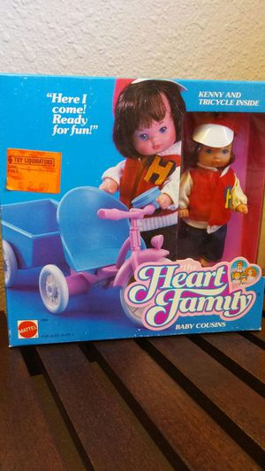 Vintage Heart Family Baby Cousins for Sale in Federal Way, WA