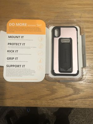 Pink schooch case iPhone X great car vent for Sale in Sacramento, CA