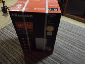 Hisense 70 pint Dehumidifier for Sale in Baltimore, MD